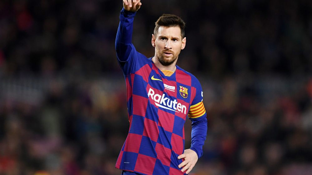PANIC AT CAMP NOU; CLUB FEARS LOOSING MESSI TO RETIREMENT